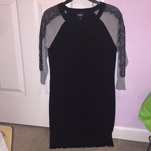 By & by 3/4 sleeve dress